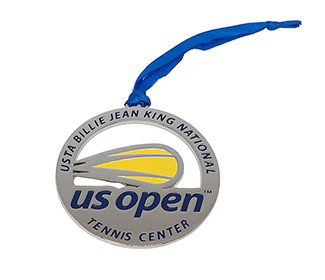 US Open Holiday Ornament (Silver)